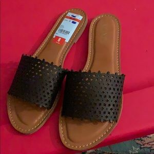 Black cute sandals **